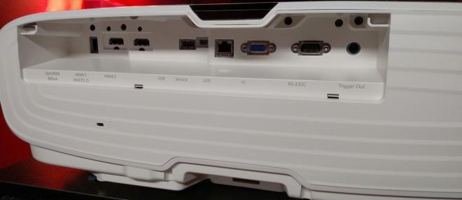 Epson HC 4010 Back Panel
