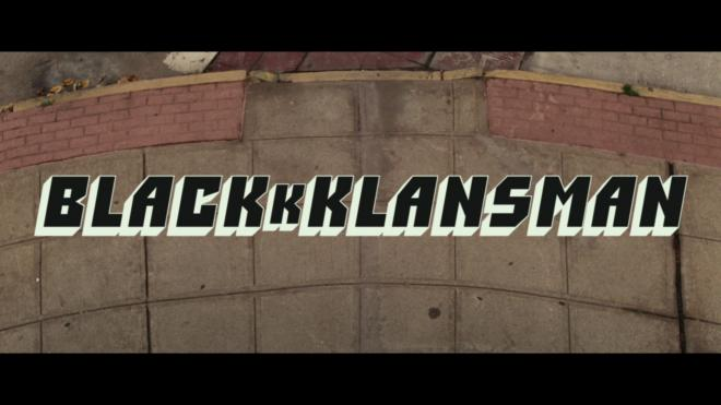 BlacKkKlansman 4K Blu-ray