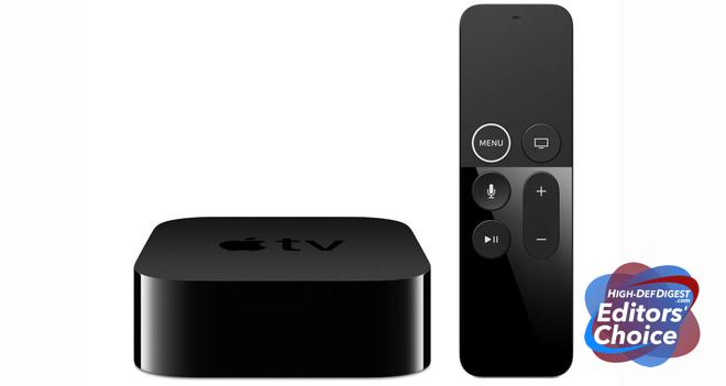 Apple TV 4K HDD Editors' Choice