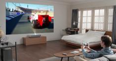LG Cinebeam 4K Laser Projector