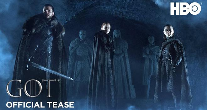 game of thrones season eight teaser