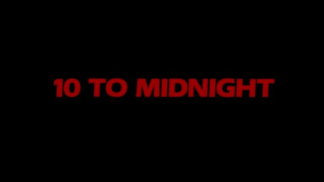 10 to Midnight Collector's Edition