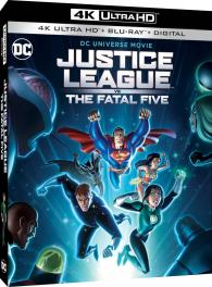 Justice League Vs The Fatal Five 4k Ultra Hd Blu Ray Ultra Hd Review High Def Digest