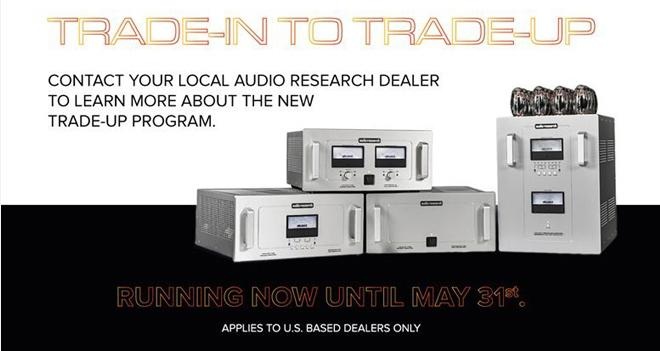audio research trade up program