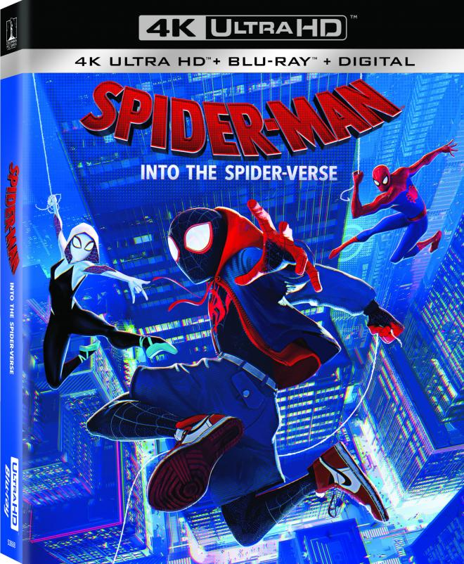 Spider Man Into The Spider Verse 4k Ultra Hd Blu Ray Ultra Hd Review High Def Digest