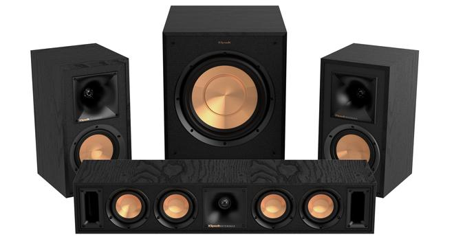 WiSA Klipsch reference wireless speakers