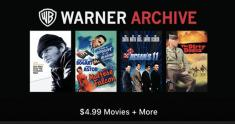 warner archive sale