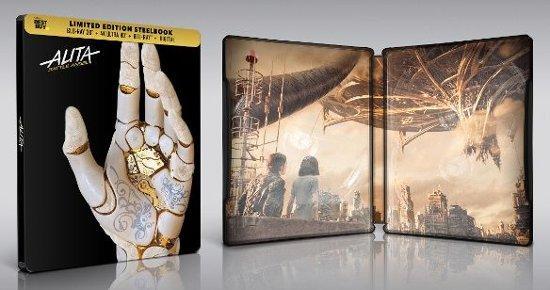 Alita Battle Angel 4K Ultra HD & 3D Best Buy SteelBook
