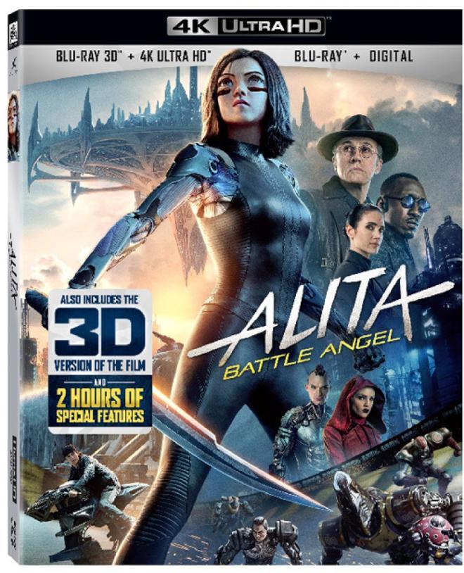 Alita Battle Angel 4K Ultra HD & 3D Blu-ray
