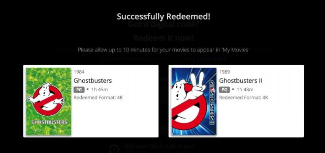 Ghostbusters Limited Edition SteelBook 4K Digital Copy Redemption