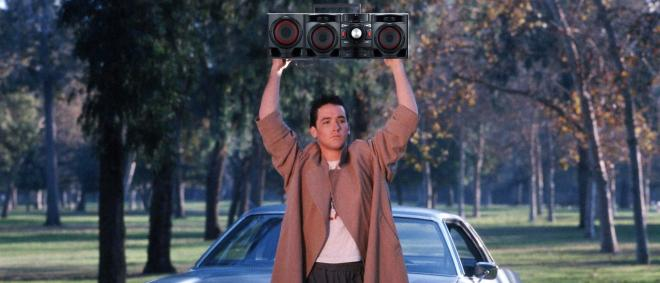 Say Anything with the LG CM4590 boom box