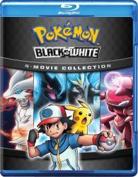 Pokemon Black White 4 Movie Collection Blu Ray Disc Details