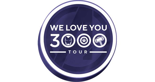Marvel We Love You 3000 Tour