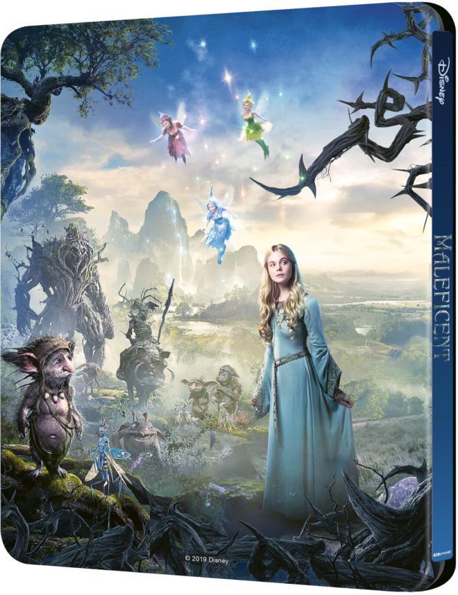 Maleficent - 4K Ultra HD Blu-ray (Best Buy Exclusive SteelBook)  back cover