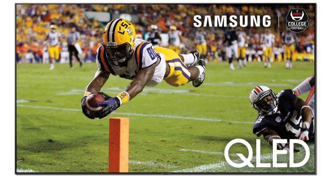 ESPN 4K Broadcast on Samsung QLED