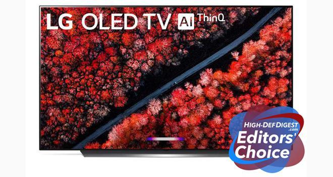 LG C9 OLED Editor's Choice