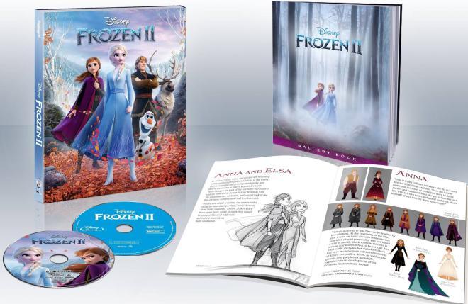 Frozen II Target Exclusive Gallery Book
