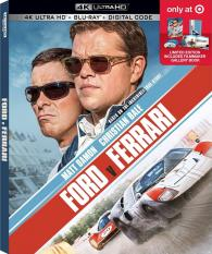 Ford V Ferrari 4k Ultra Hd Blu Ray Target Exclusive Ultra Hd Review High Def Digest