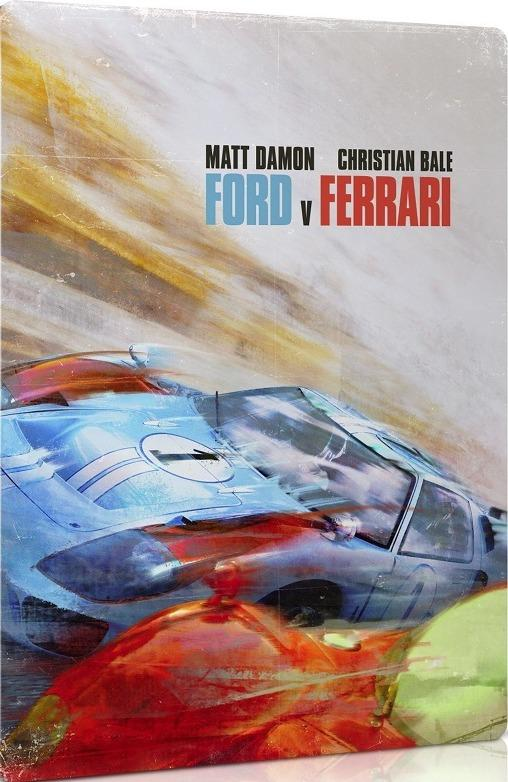 Ford V Ferrari 4k Ultra Hd Blu Ray Best Buy Exclusive Steelbook Ultra Hd Review High Def Digest