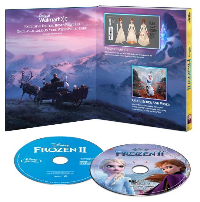 Frozen II Walmart contents