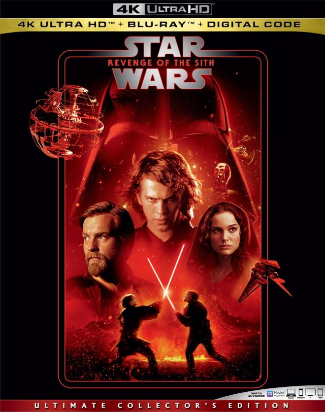 Star Wars Episode Iii Revenge Of The Sith 4k Ultra Hd Blu Ray Ultra Hd Review High Def Digest