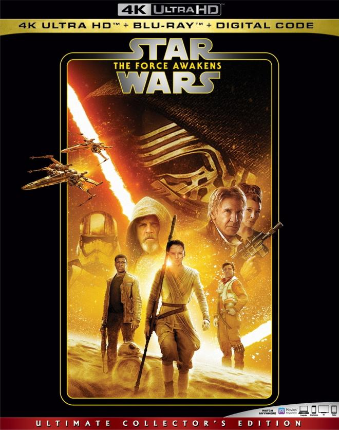 Star Wars Episode Vii The Force Awakens 4k Ultra Hd Blu Ray Ultra Hd Review High Def Digest
