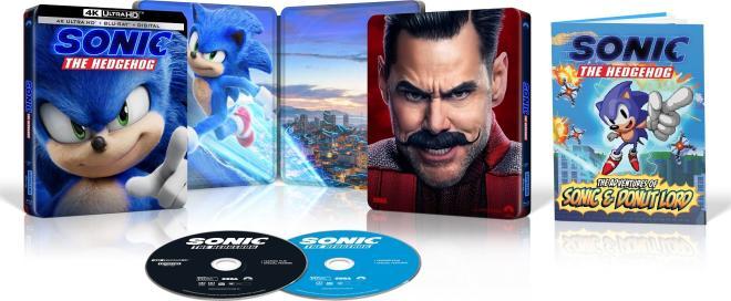 Sonic the Hedgehog 4K Best Buy overview