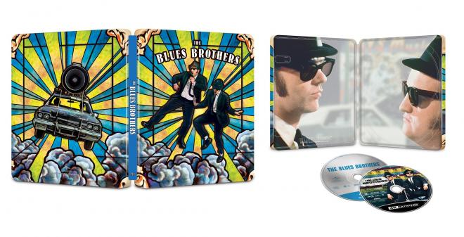 Blues Brothers 4K SteelBook overview