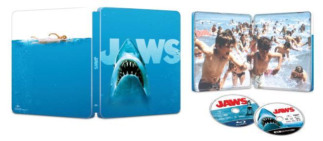 Jaws 4K SteelBook overview