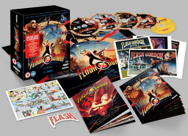 Flash Gordon 4K 40th Anniversary Edition Overview