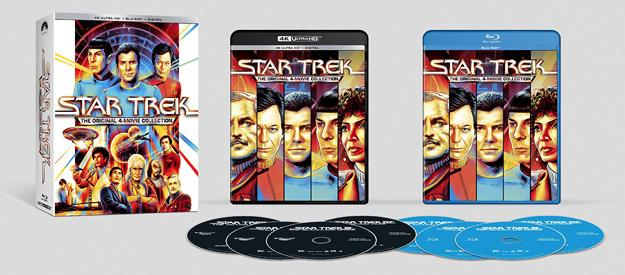 Star Trek 1-4 4K UHD