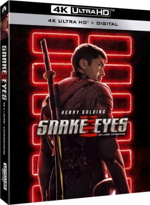 Snake Eyes GI Joe Origins 4K UHD Blu-ray
