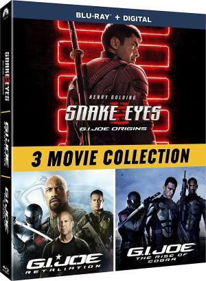 G.I. Joe 3-Film Collection Blu-ray