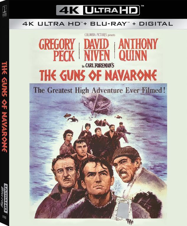 The Guns of Navarone 4K UHD Bluray