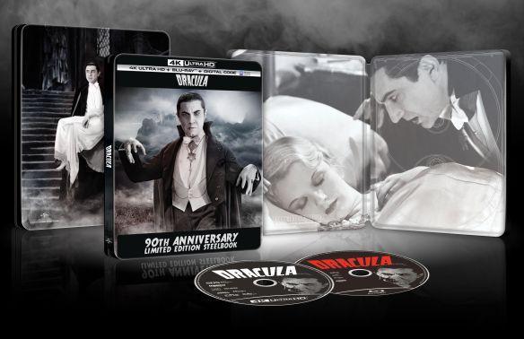 Dracula 4K Ultra HD Blu-ray SteelBook
