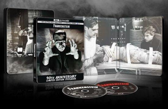 Frankenstein 1931 4K Ultra HD Blu-ray SteelBook