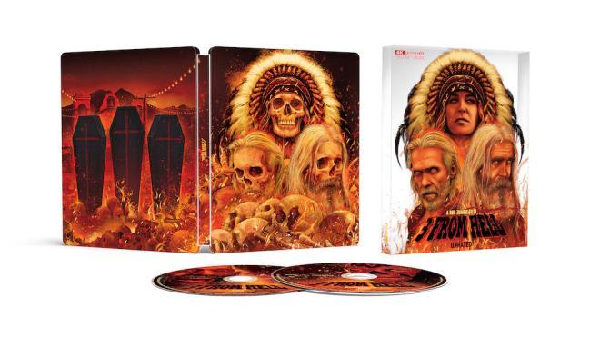 3 From Hell 4K Ultra HD Blu-ray SteelBook