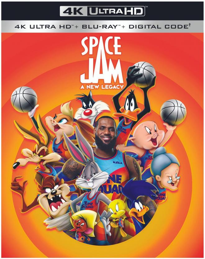 Space Jam: A New Legacy 4K Cover