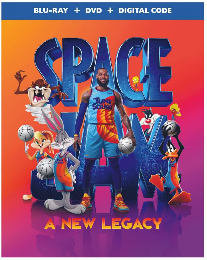 Space Jam: A New Legacy Blu-ray