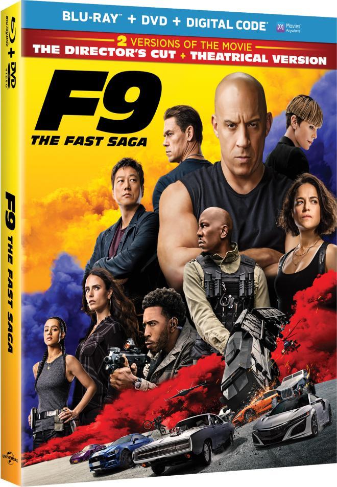 F9 The Fast Saga Blur-ay