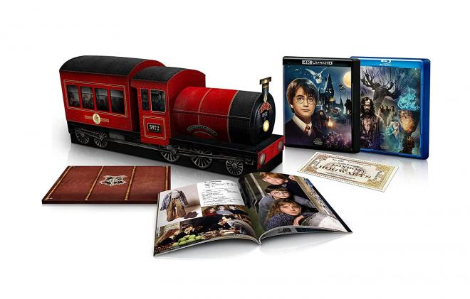 Harry Potter 4-Ultra HD Blu-ray Anniversary Collector's Edition Set