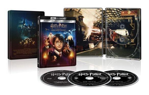Harry Potter Sorcerers Stone Magical Movie Mode 4K SteelBook