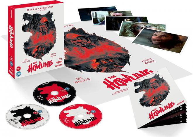 The Howling 40th Anniversary 4K UHD Blu-ray Deluxe Box Set