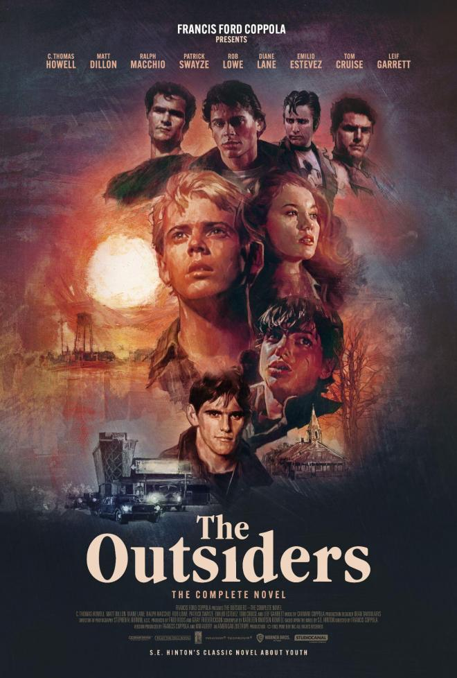 The Outsiders The Complete Novel 4K
