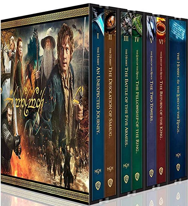 The Lord of the Rings & The Hobbit 4K UHD & Blu-ray