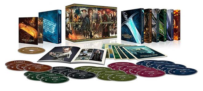Middle Earth Ultimate Collector's Edition 4K Ultra HD Blu-ray Box Set