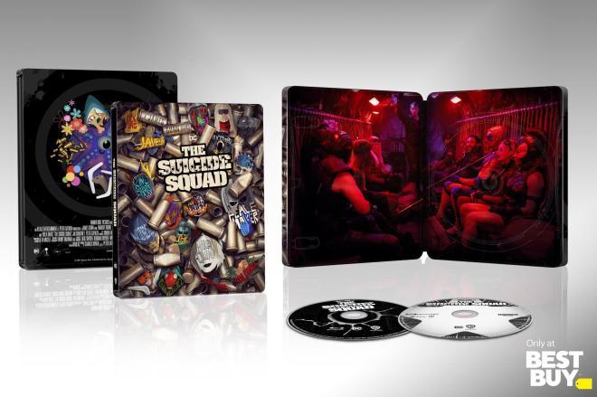 The Suicide Squad - 4K SteelBook