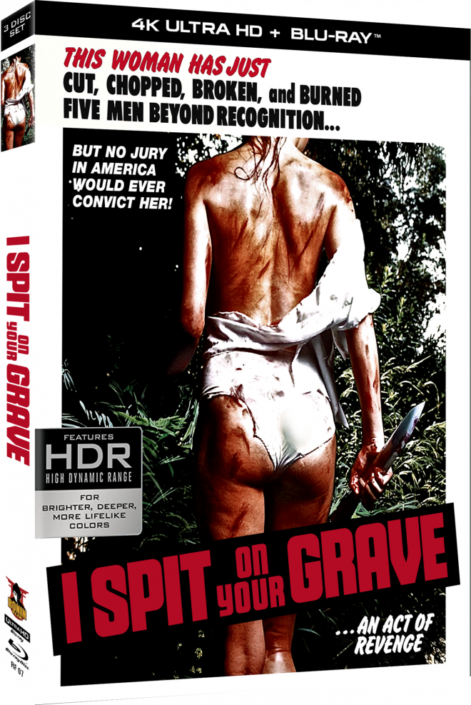 I Spit On Your Grave 4K Ultra HD Blu-ray