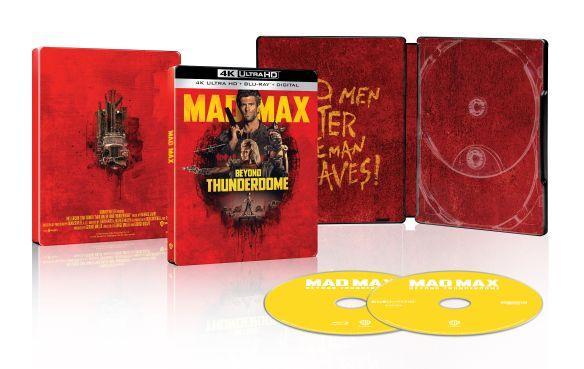 Mad Max Beyond Thunderdome 4K SteelBook