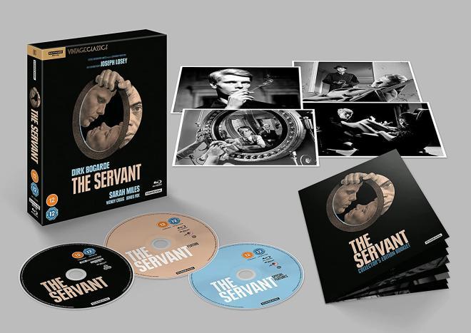 The Servant - 4K UHD Blu-ray Set